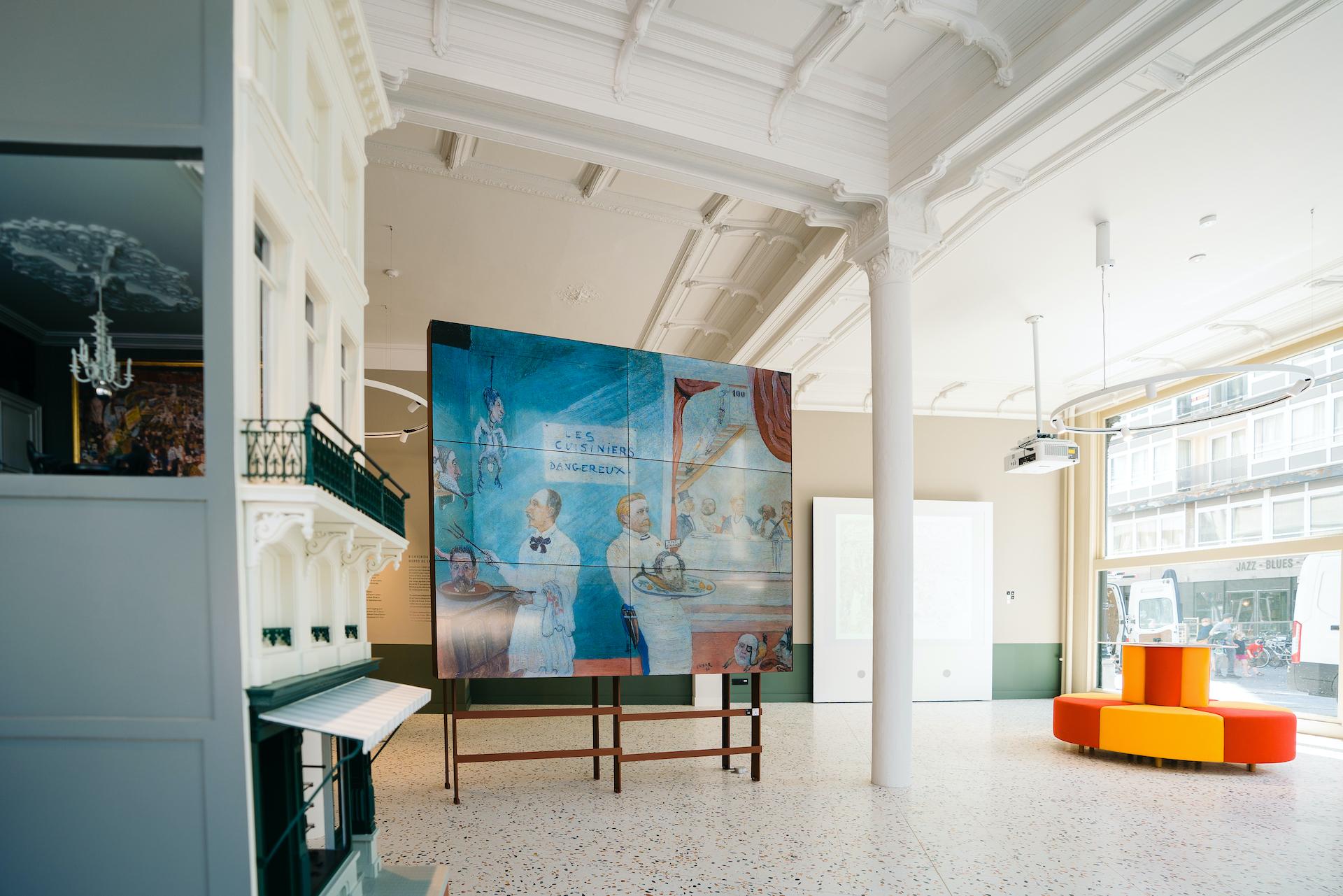 Ensor Experience Center, Oostende © Nick Decombel, VISIT OOSTENDE